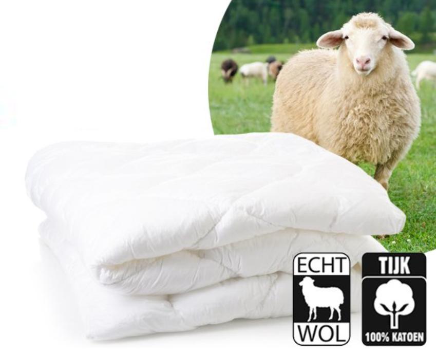 dekbed schapenwol